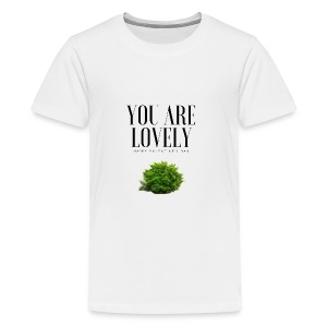 You are lovely - Fortnite Edition - T-shirt Premium Ado