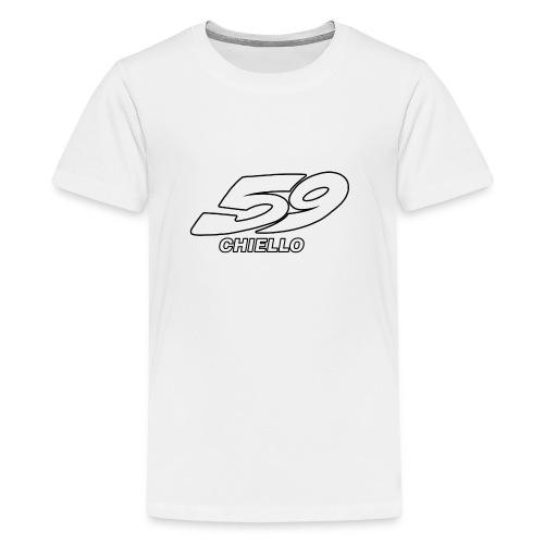 CHIELLO - Maglietta Premium per ragazzi