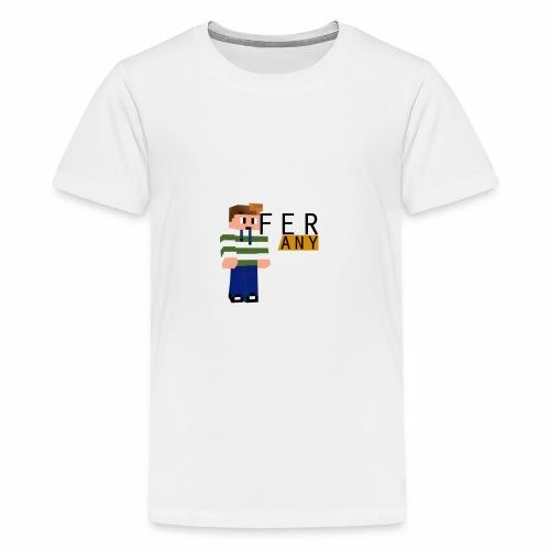 MinecraftFeranyLogo - Teenager Premium T-shirt