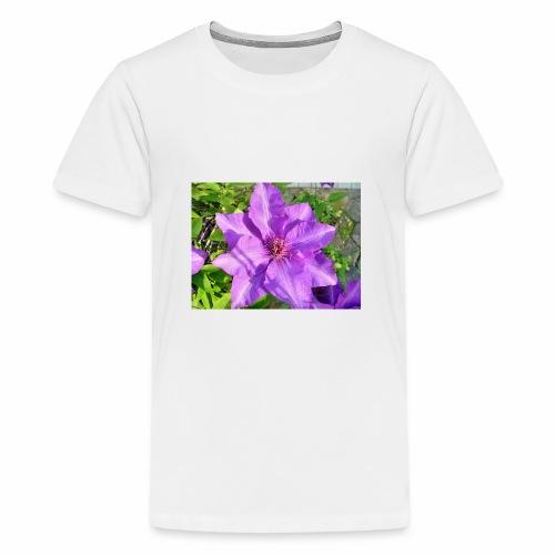 Die klematis - Teenager Premium T-Shirt
