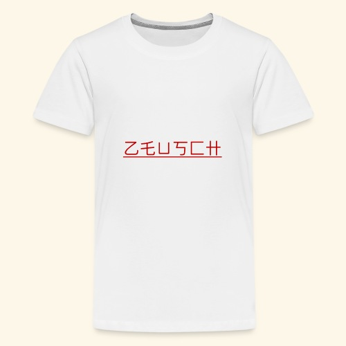 Zeusch Logo - Teenager Premium T-shirt