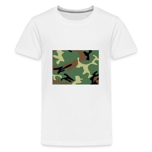 Camo_SJA - Teenage Premium T-Shirt