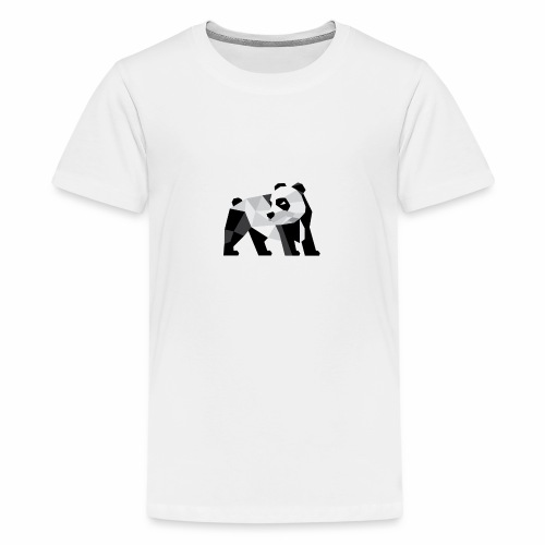 PANDA Modern - Teenager Premium T-Shirt