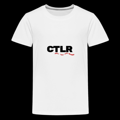CHILL TIL LATE RECORDS - Teenage Premium T-Shirt