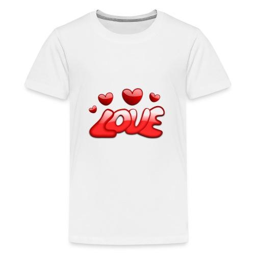love 150277 1280 - Teenager Premium T-Shirt