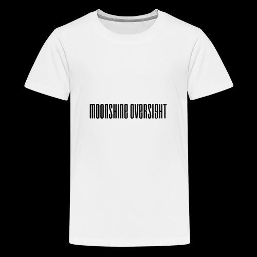 Moonshine Oversight logo - T-shirt Premium Ado