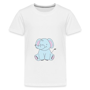 The Little Elephant - Teenage Premium T-Shirt