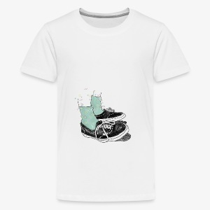 My Happy Sneakers - Teenager Premium T-Shirt