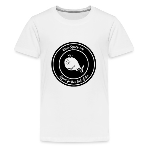 Whale Spoodge Branded Range - Teenage Premium T-Shirt