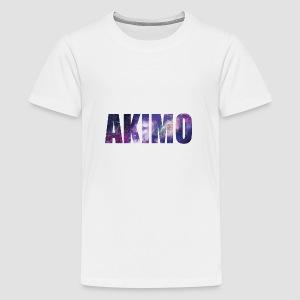 AKIMO Basic Galaxy - Teenager Premium T-Shirt