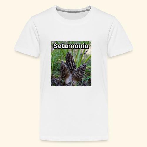 Colmenillas setamania - Camiseta premium adolescente