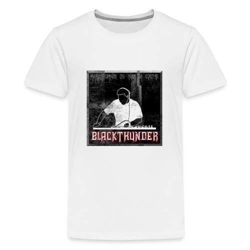 BlackThunder (Hardtechno) Logo - Teenager Premium T-Shirt