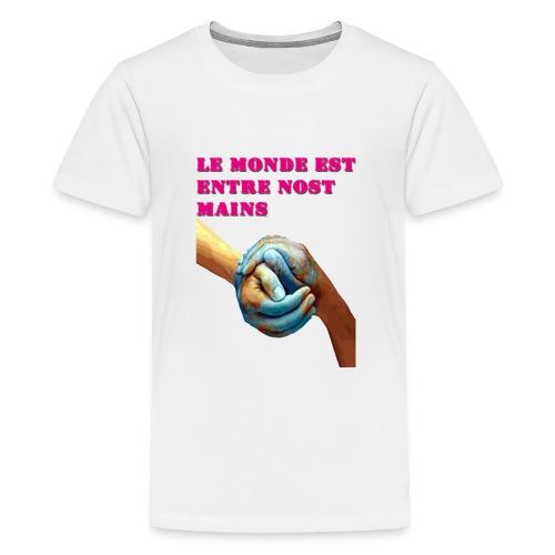 Pueblo unido - Camiseta premium adolescente