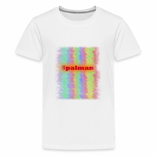 Rainbow Wave - Teenager Premium T-Shirt
