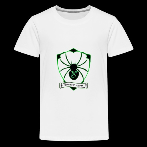 Spider army - Teenager Premium T-Shirt