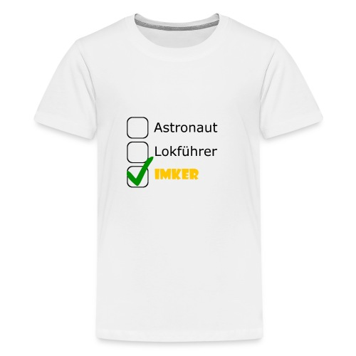 Astronaut, Lokführer, Imker - Teenager Premium T-Shirt