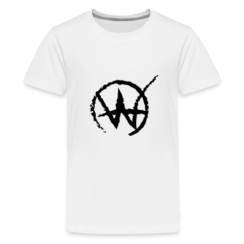 wahlberg black - Premium-T-shirt tonåring