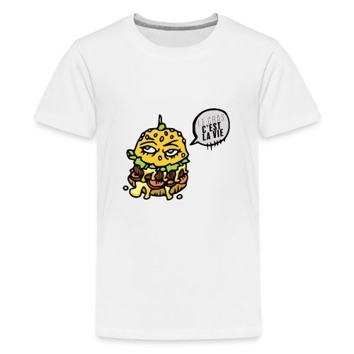 Vive le gras - T-shirt Premium Ado