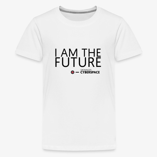I am the future - Teenager Premium T-shirt
