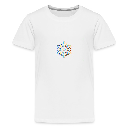 Logo Futur Snowflake - T-shirt Premium Ado