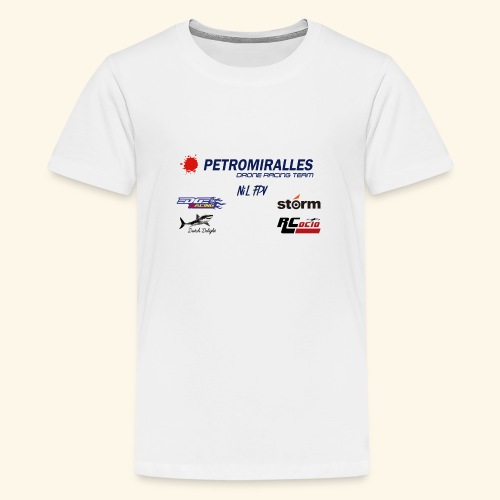 DRONE RACING TEAM - Camiseta premium adolescente