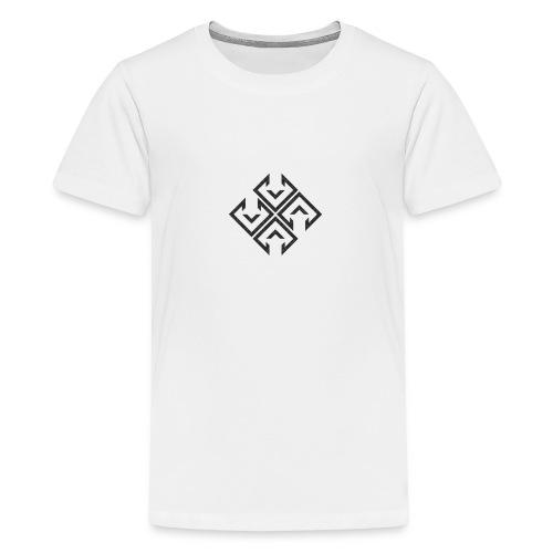 logo ibra2 - Camiseta premium adolescente