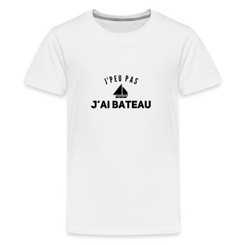bateau - T-shirt Premium Ado