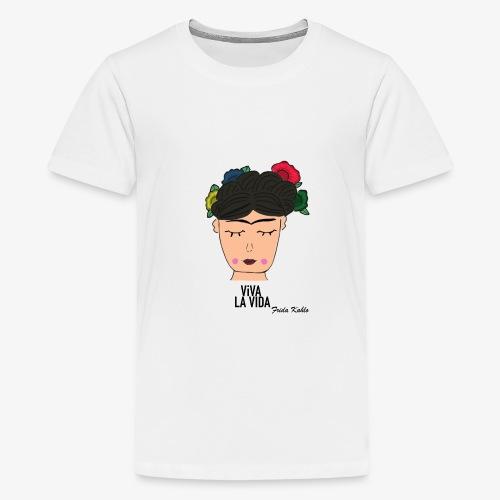 ICONIC FRIDA - Teenager Premium T-Shirt