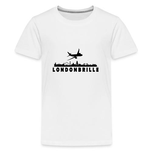 Londonbrille - Teenager Premium T-Shirt