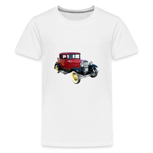 Car - Premium T-skjorte for tenåringer