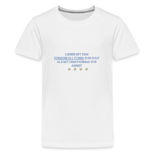 PORSCHETURBOGOLF - Teenager Premium T-Shirt