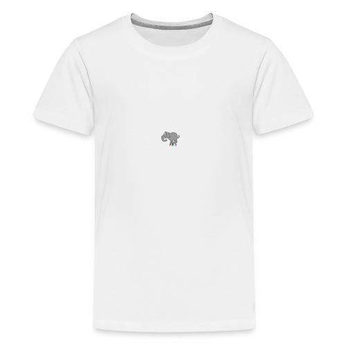 ELEPHANTEYY - Teenage Premium T-Shirt