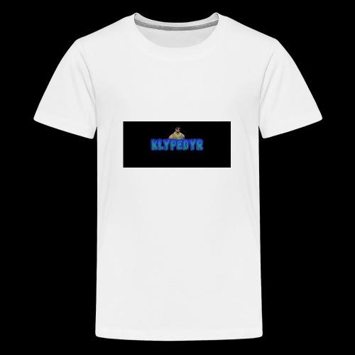 Klypes nettbutikk - Premium T-skjorte for tenåringer
