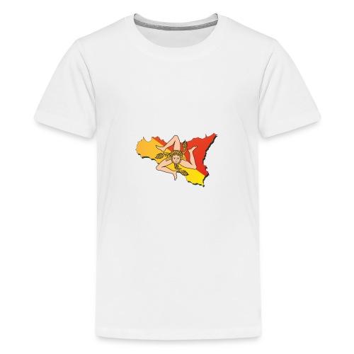 I love Sicilia - Teenager Premium T-Shirt
