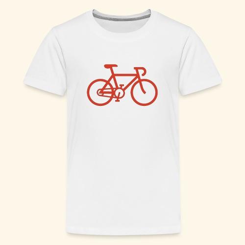 BIG bike red 001 - Teenager Premium T-Shirt