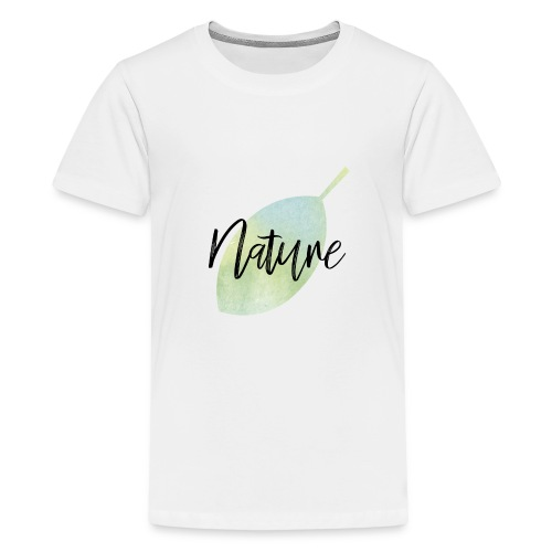 Nature - Camiseta premium adolescente
