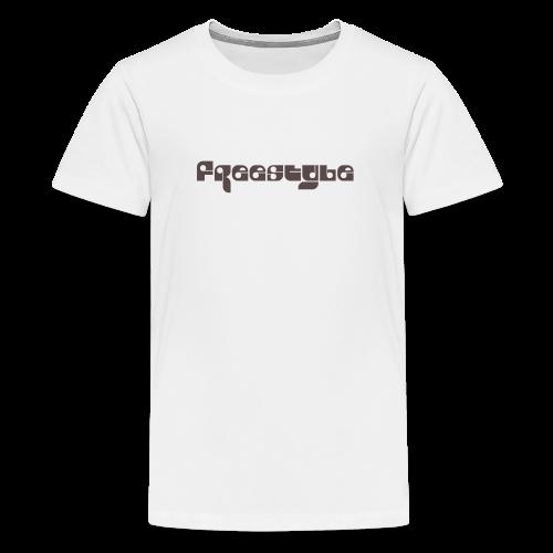 Freestyle Collection - Premium T-skjorte for tenåringer