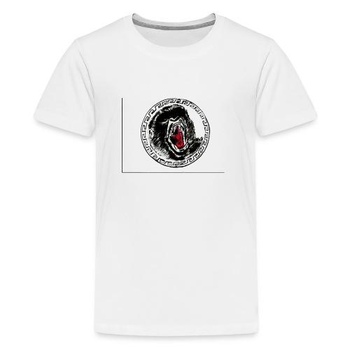 gezeichneter Print fuer ein T Shirt - Teenager Premium T-Shirt