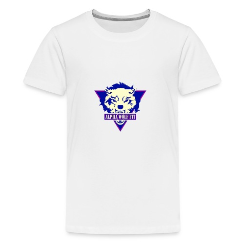Purple logo - Teenage Premium T-Shirt