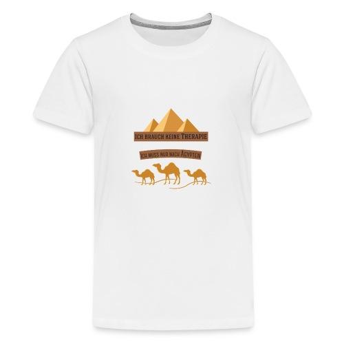egypt Therapie - Teenager Premium T-Shirt