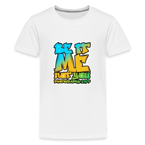 Hip-Hop Logo - Teenage Premium T-Shirt