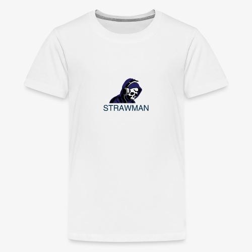 strawman logo - Teenage Premium T-Shirt
