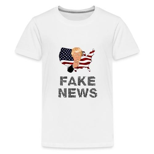 Trump Fake news - Teenager Premium T-Shirt