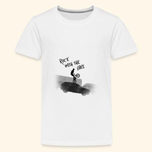Rock with the Bike - Camiseta premium adolescente