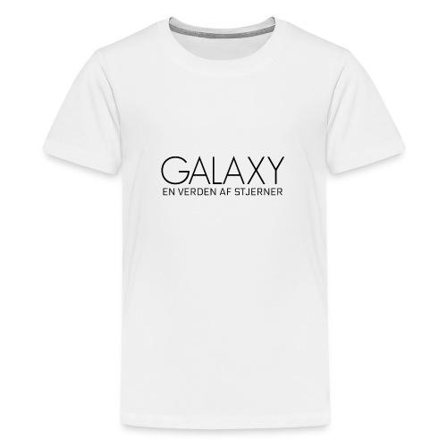 En verden af stjerner - Teenager premium T-shirt