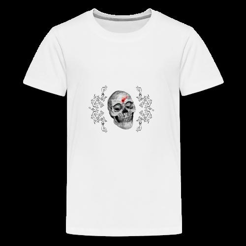 Skull One Bullet - T-shirt Premium Ado