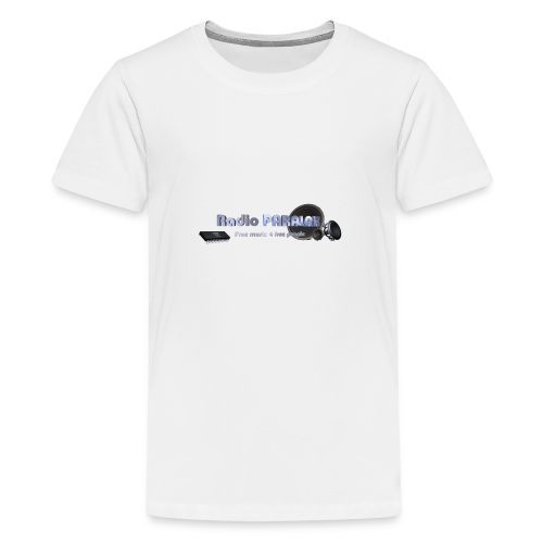 Radio PARALAX Facebook-Logo - Teenager Premium T-Shirt