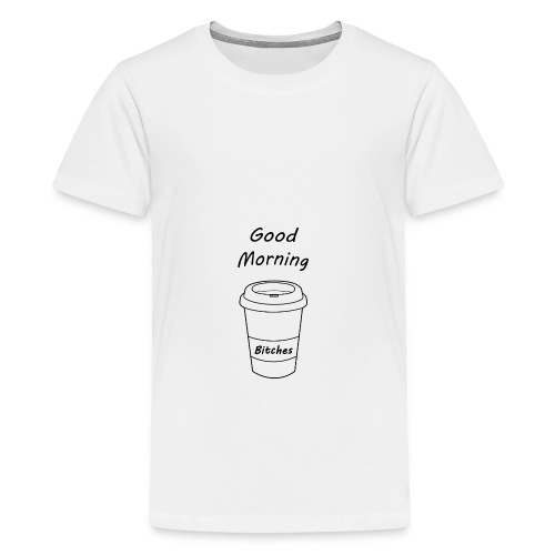 Guten Morgen t-shirt - Teenager Premium T-Shirt