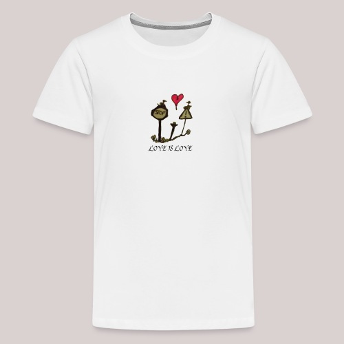 Love is Love - Teenage Premium T-Shirt