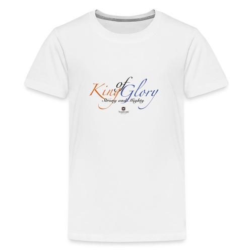King of Glory by TobiAkiode™ - Teenage Premium T-Shirt